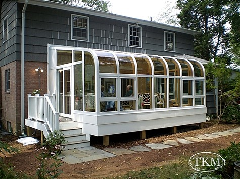 manufactured home sunrooms