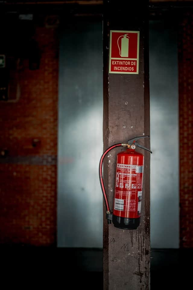 manufactured home fire extinguishers